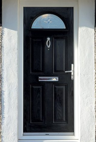 Wraysbury Composite Door Bespoke Glass