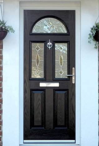 Composite Door in Bushey with 3 glass panels