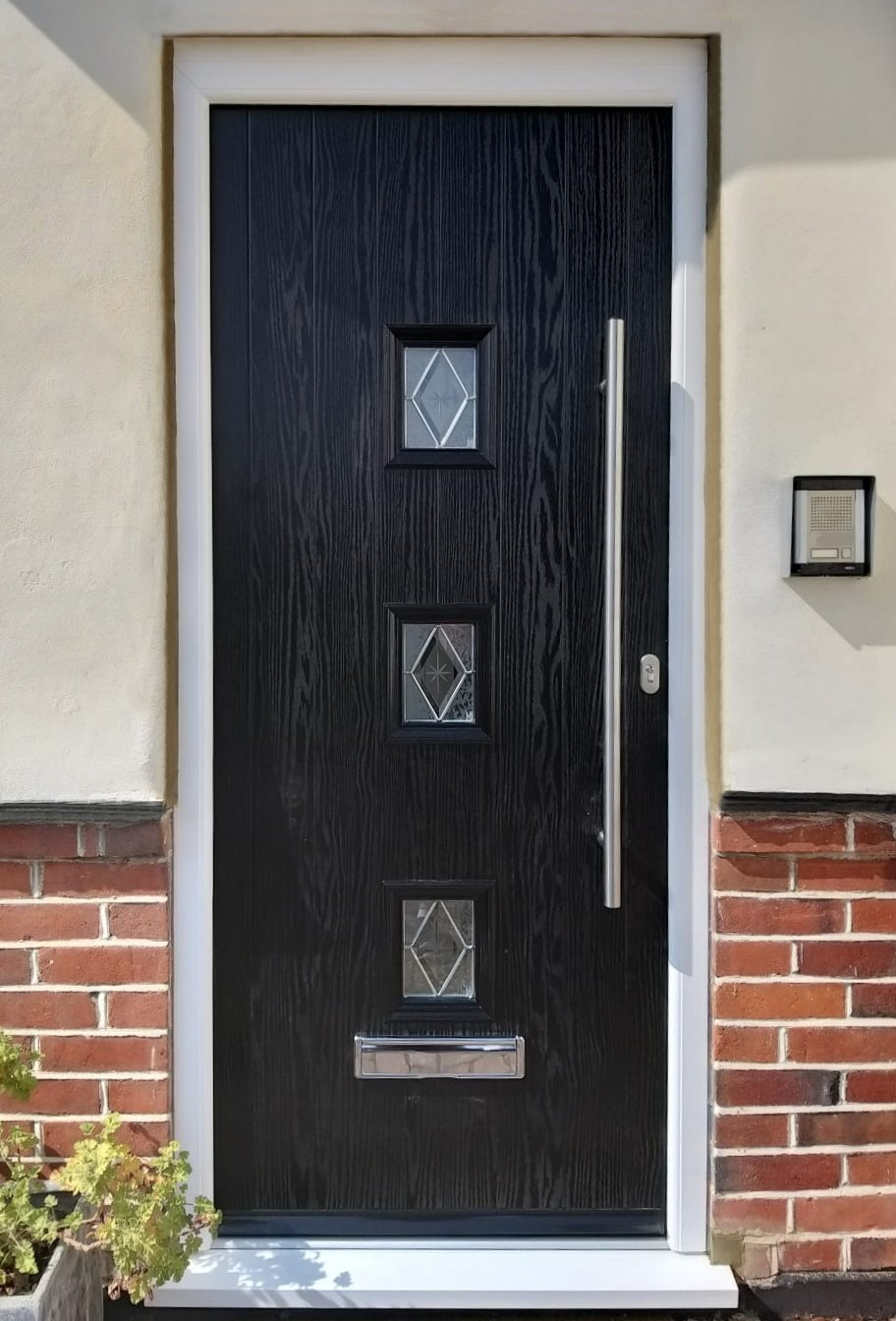 New Composite Front Door Bushey