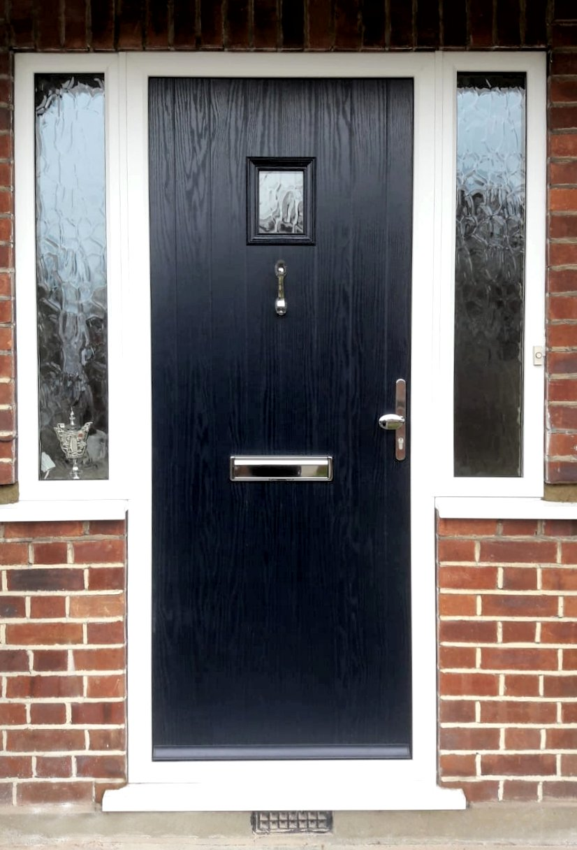 Wraysbury Composite Door Dark Blue