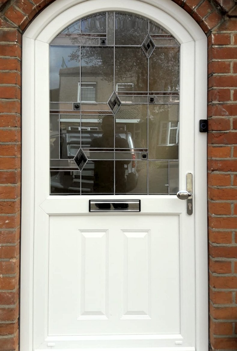 White Composite Door For Sale in Pinner